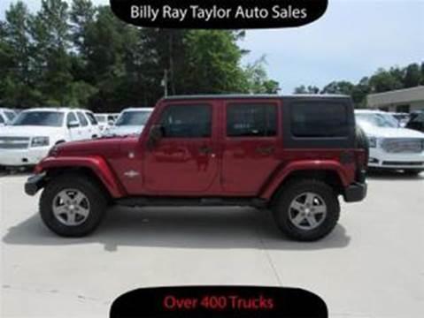 2013 Jeep Wrangler Unlimited for sale in Cullman, AL