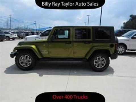 2008 Jeep Wrangler Unlimited for sale in Cullman, AL