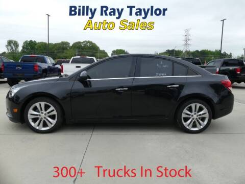 2011 Chevrolet Cruze for sale at Billy Ray Taylor Auto Sales in Cullman AL