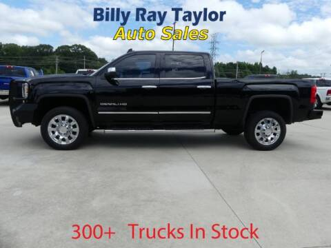 2017 GMC Sierra 2500HD for sale at Billy Ray Taylor Auto Sales in Cullman AL