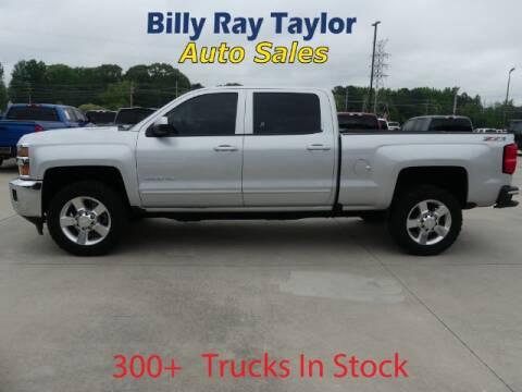 2016 Chevrolet Silverado 2500HD for sale at Billy Ray Taylor Auto Sales in Cullman AL