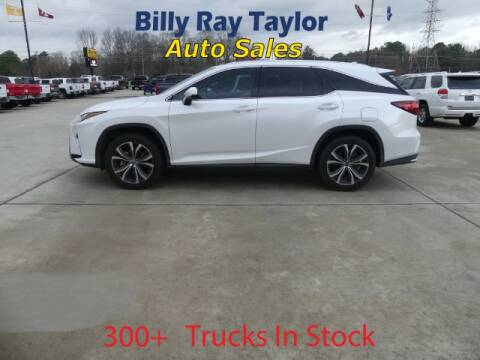 2018 Lexus RX 350L for sale at Billy Ray Taylor Auto Sales in Cullman AL
