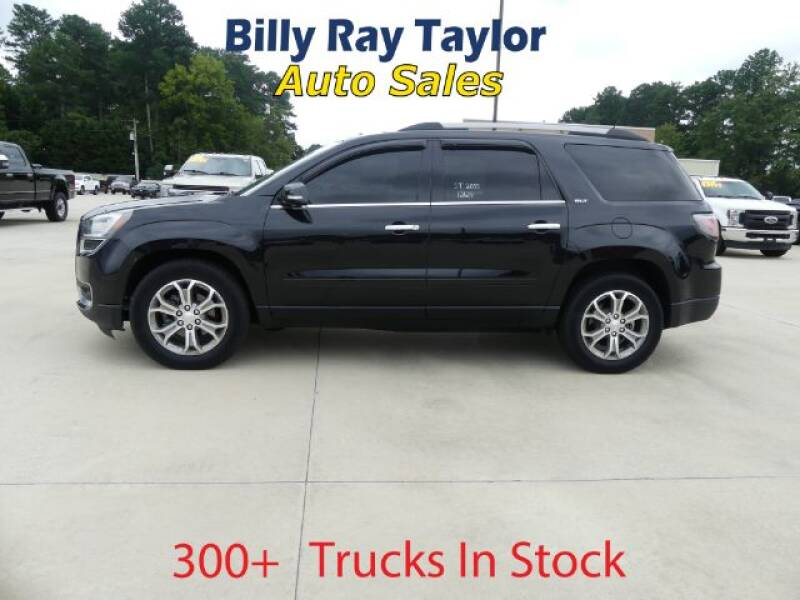 2014 GMC Acadia for sale at Billy Ray Taylor Auto Sales in Cullman AL