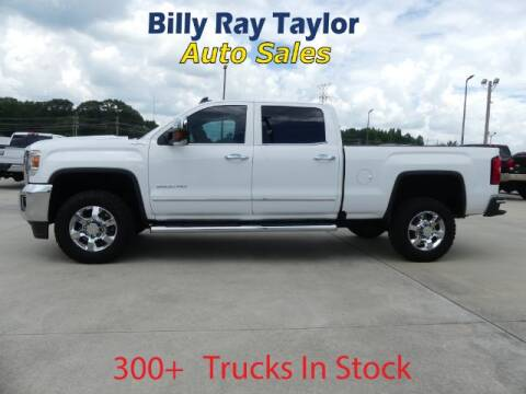 2018 GMC Sierra 2500HD for sale at Billy Ray Taylor Auto Sales in Cullman AL