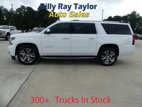 2016 Chevrolet Suburban for sale at Billy Ray Taylor Auto Sales in Cullman AL
