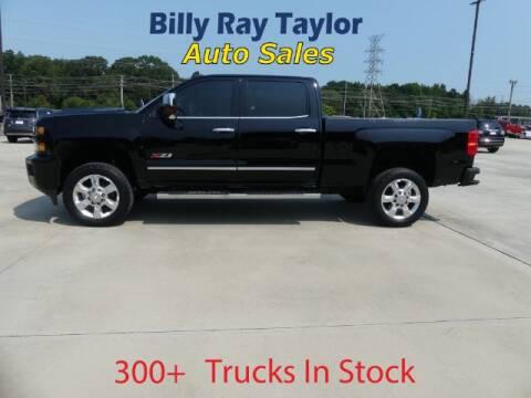 2018 Chevrolet Silverado 2500HD for sale at Billy Ray Taylor Auto Sales in Cullman AL