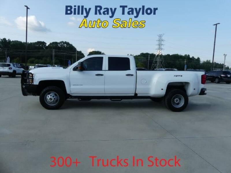 2017 Chevrolet Silverado 3500HD for sale at Billy Ray Taylor Auto Sales in Cullman AL