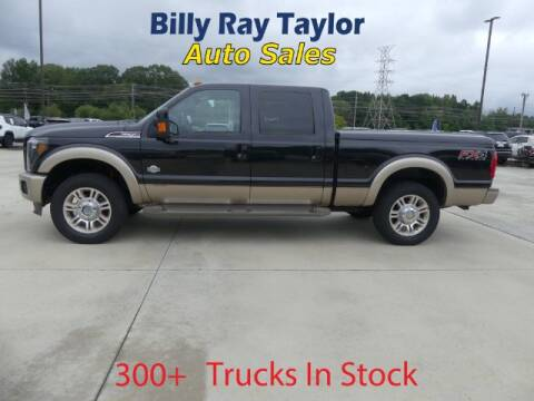 2013 Ford F-250 Super Duty for sale at Billy Ray Taylor Auto Sales in Cullman AL