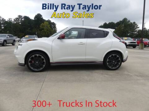 2015 Nissan JUKE for sale at Billy Ray Taylor Auto Sales in Cullman AL