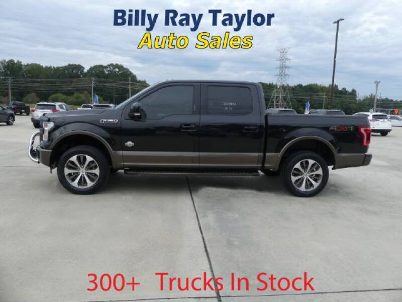 2015 Ford F-150 for sale at Billy Ray Taylor Auto Sales in Cullman AL