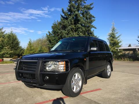2003 Land Rover Range Rover for sale in Tacoma, WA
