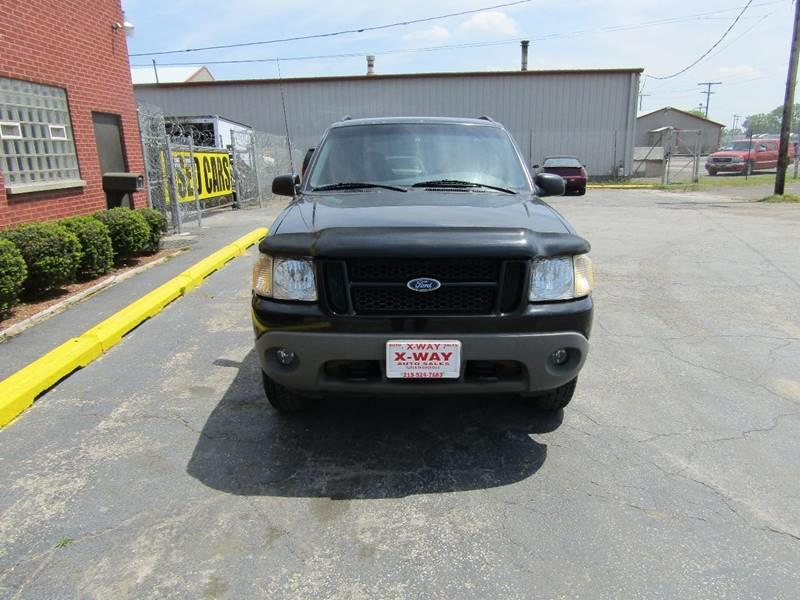 2001 Ford Explorer Sport for sale at X Way Auto Sales Inc in Gary IN