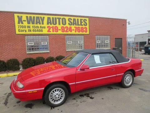 1995 Chrysler Le Baron For Sale Carsforsale Com