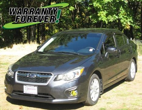 2013 Subaru Impreza for sale in Shelton, WA