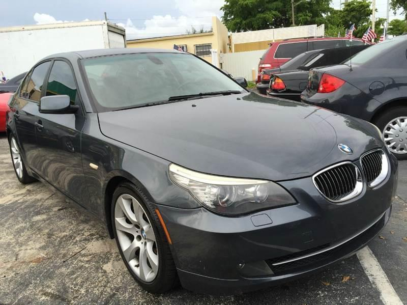 2008 BMW 5 Series for sale at Trans Copacabana Auto Sales in Hollywood FL