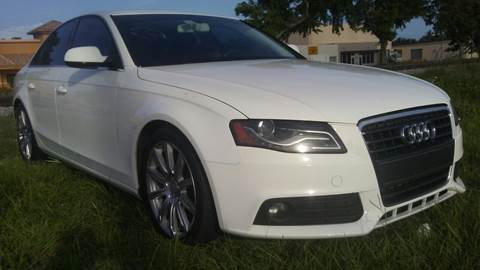 2010 Audi A4 for sale at Trans Copacabana Auto Sales in Hollywood FL