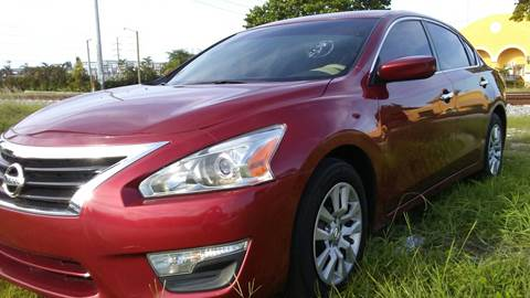2013 Nissan Altima for sale at Trans Copacabana Auto Sales in Hollywood FL