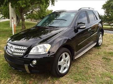 2008 Mercedes-Benz M-Class for sale at Trans Copacabana Auto Sales in Hollywood FL