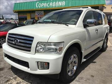 2006 Infiniti QX56 for sale in Hollywood, FL