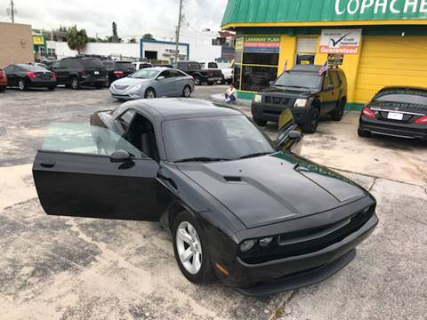 2012 Dodge Challenger for sale at Trans Copacabana Auto Sales in Hollywood FL