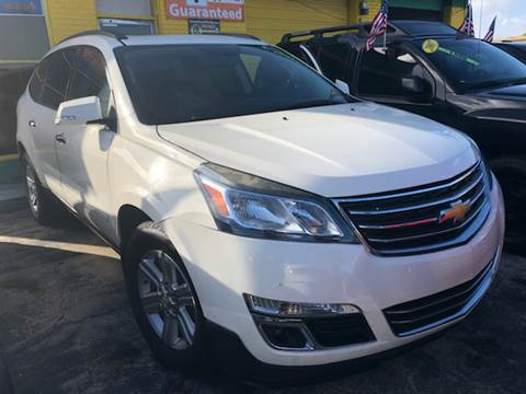 2014 Chevrolet Traverse for sale at Trans Copacabana Auto Sales in Hollywood FL