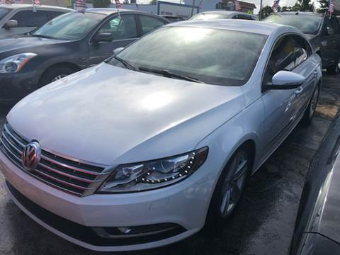 2013 Volkswagen CC for sale at Trans Copacabana Auto Sales in Hollywood FL