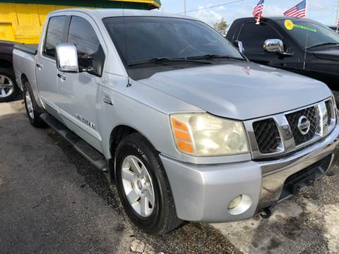 2006 Nissan Titan for sale at Trans Copacabana Auto Sales in Hollywood FL
