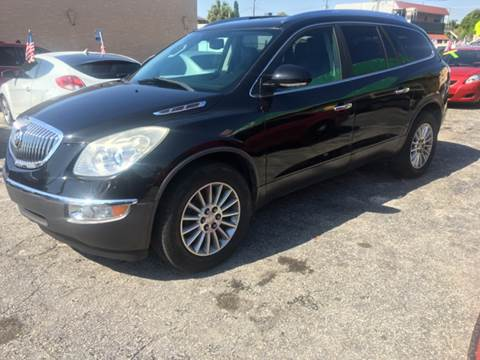 2011 Buick Enclave for sale at Trans Copacabana Auto Sales in Hollywood FL
