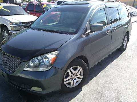 2006 Honda Odyssey for sale at Trans Copacabana Auto Sales in Hollywood FL