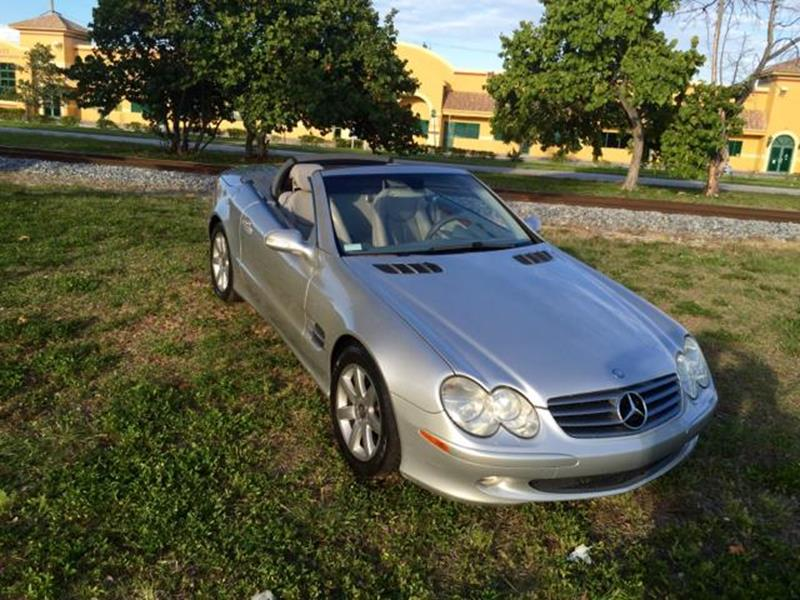 2003 Mercedes-Benz SL-Class for sale at Trans Copacabana Auto Sales in Hollywood FL