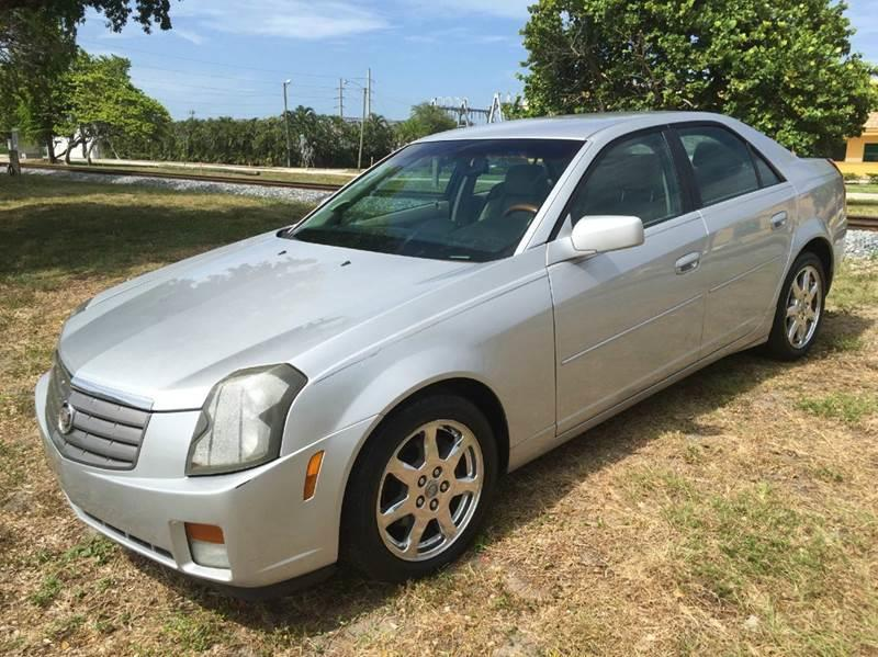 2003 Cadillac Cts Base 4dr Sedan In Hollywood FL - Trans Copacabana
