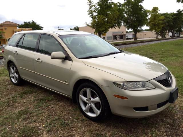 2004 mazda mazda6 s 4dr sport wagon in hollywood fl trans copacabana auto sales. Black Bedroom Furniture Sets. Home Design Ideas