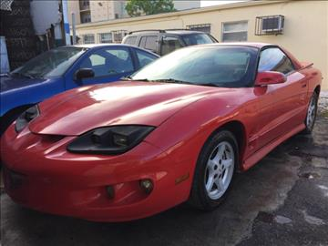 1999 Pontiac Firebird for sale at Trans Copacabana Auto Sales in Hollywood FL
