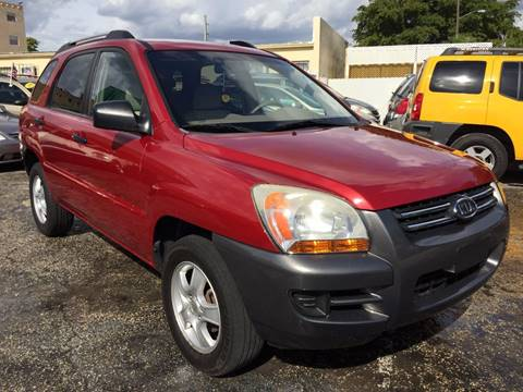 2008 Kia Sportage for sale in Hollywood, FL