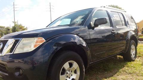 2008 Nissan Pathfinder for sale in Hollywood, FL