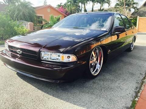 1996 Chevrolet Impala for sale at Cita Auto Sales in Medley FL