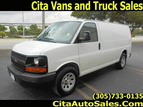 2014 Chevrolet Express Cargo for sale at Cita Auto Sales in Medley FL