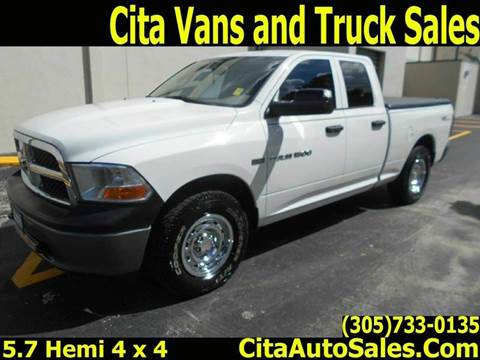 2011 RAM Ram Pickup 1500 for sale at Cita Auto Sales in Medley FL