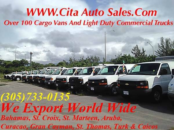 2012 Chevrolet Express Cargo CARGO VAN chevy express ford econoline