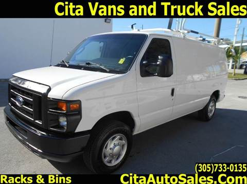2012 Ford E-Series Cargo for sale at Cita Auto Sales in Medley FL