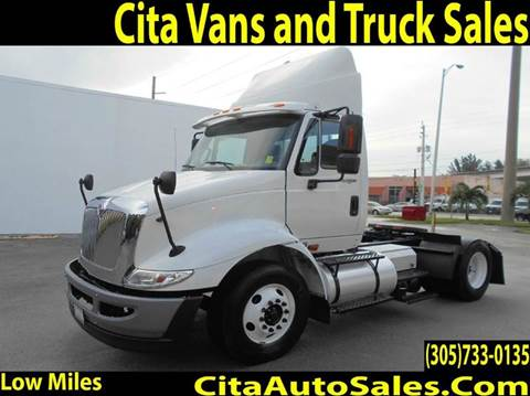 2012 INTERNATIONAL 8600 TRANSTAR Convetional DAYCAB 8600 Convetional Daycab for sale in Medley, FL