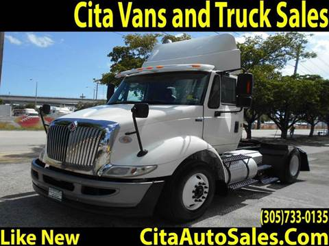 2013 International 8600 TRANSTAR CONVETIONAL DAYCAB 8600 SBA DAYCAB for sale in Medley, FL