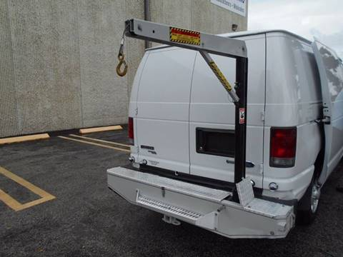 2013 FORD ECONOLINE E150 MECHANIC VAN STOW AWAY CRANE for sale at Cita Auto Sales in Medley FL