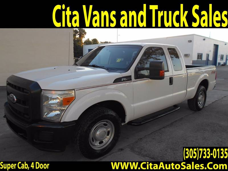 2011 Ford F-250 Super Duty for sale at Cita Auto Sales in Medley FL