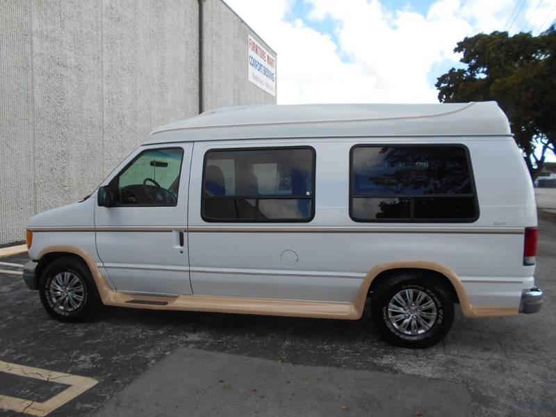 2002 Ford Econoline E150 Hi Top Conversion Van E 150 CONVERSION VAN