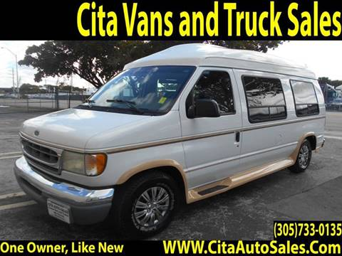 2002 FORD ECONOLINE E150 HI TOP CONVERSION VAN For Sale In Medley FL