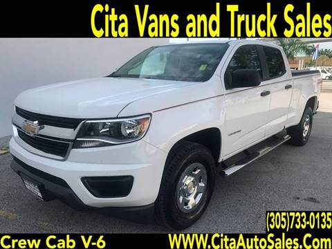 2015 Chevrolet Colorado for sale at Cita Auto Sales in Medley FL