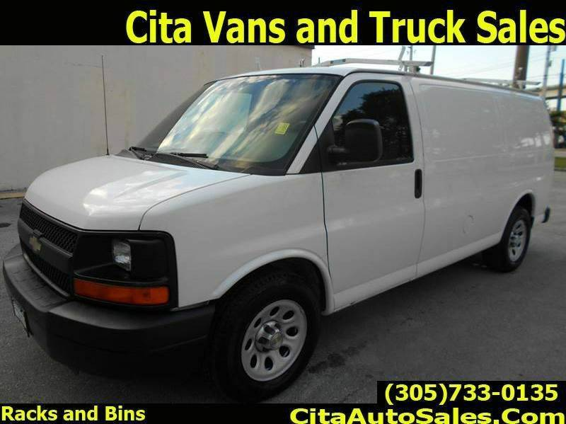 2012 Chevrolet Express Cargo for sale at Cita Auto Sales in Medley FL