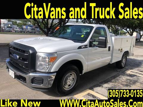 2015 Ford F-250 Super Duty for sale at Cita Auto Sales in Medley FL