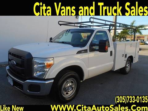 2012 Ford F-250 for sale at Cita Auto Sales in Medley FL